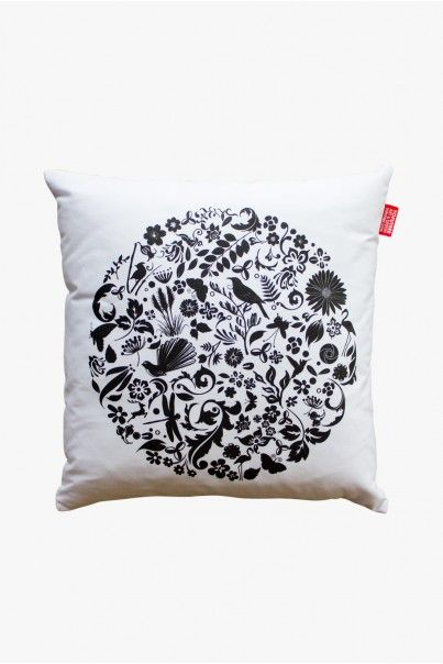 BEAUTIFUL THINGS WHITE CUSHION - Cushions - Living - Home & Living | Mr Vintage T-Shirts, Apparel & Gifts