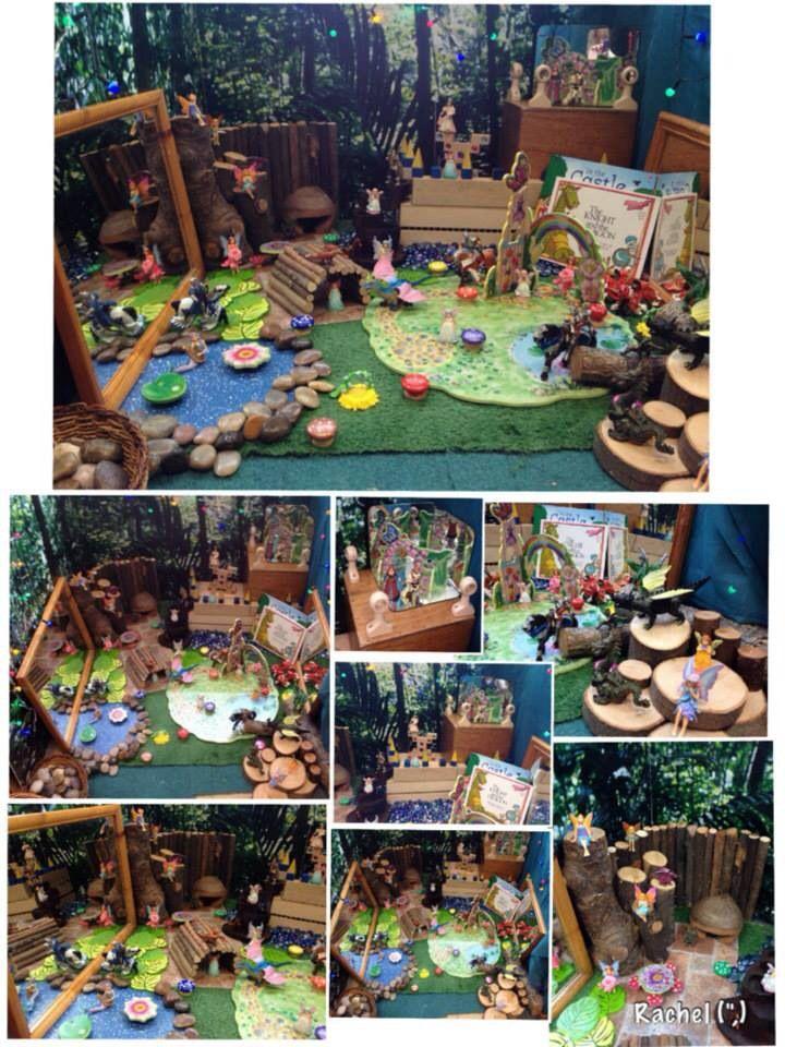 Fairy small world