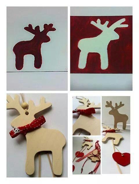 Handmade Christmas Reindeer By KIKOmania We really love this deer <3