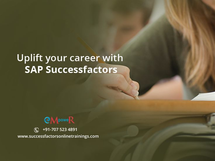 #SAP allows #Business managers and customers manage their business easily with less investment. So #SAPSucessfactors will be a step ahead for the business management students for better future.