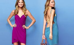 2 Bikini Wrap Dresses - One size fits most(Colors: blue, black, purple, orange, white, yellow, green, pink, red and dark green)