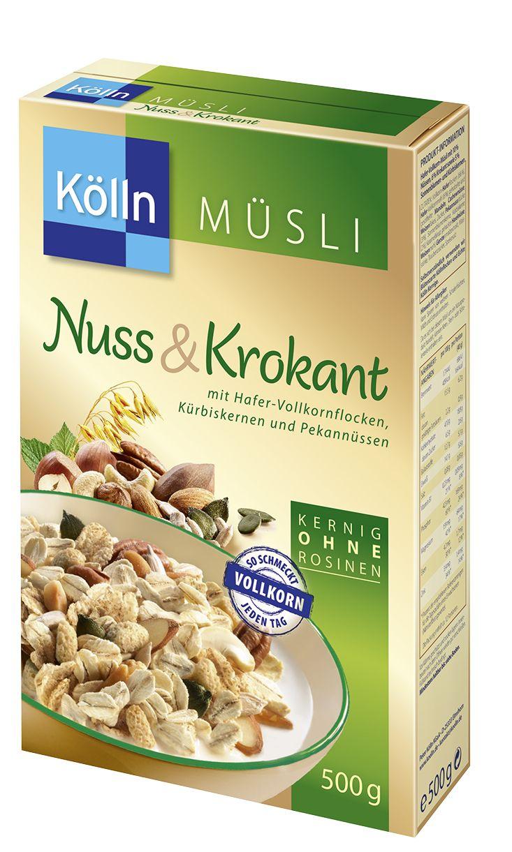 Kölln Müsli Nuss&Krokant