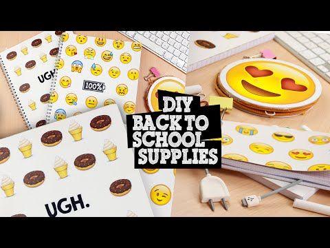 DIY Social Media Notebooks - Back to School! - YouTube