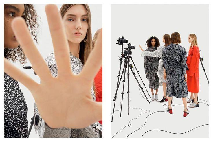MARNI SS17 campaign.  Photography – Barbara Probst Art Direction – Giovanni Bianco - Studio 65
