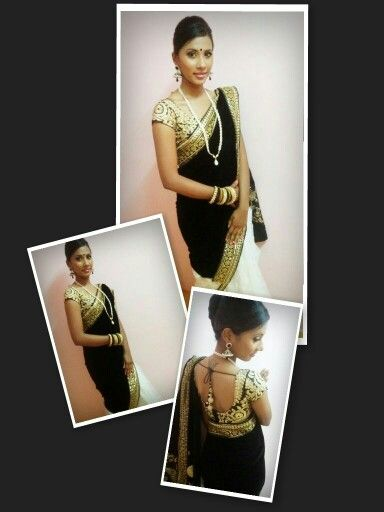 #shreya saree replica #NESH collections #heavy embroidery blouse For any inquiry, contact 012-9037151