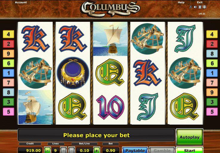 игровой автомат колумб columbus