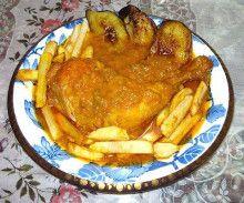 $イスラム国家イランの美味しい料理レシピ-鶏肉とサフラン&トマト煮込み