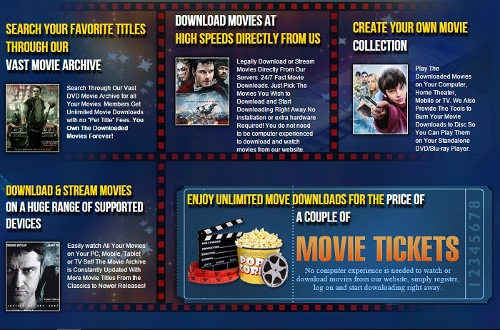 Unlimited Movie Downloads!