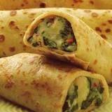 guzelce: Yemek tariflerim mantarlı ıspanaklı krep