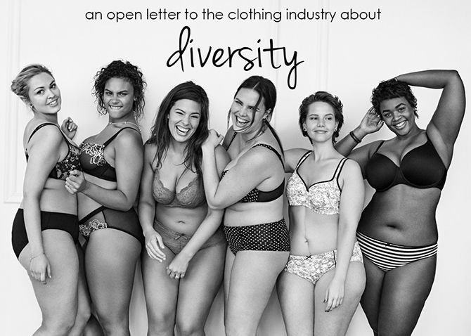 An Open Letter to the Clothing Industry About Diversity