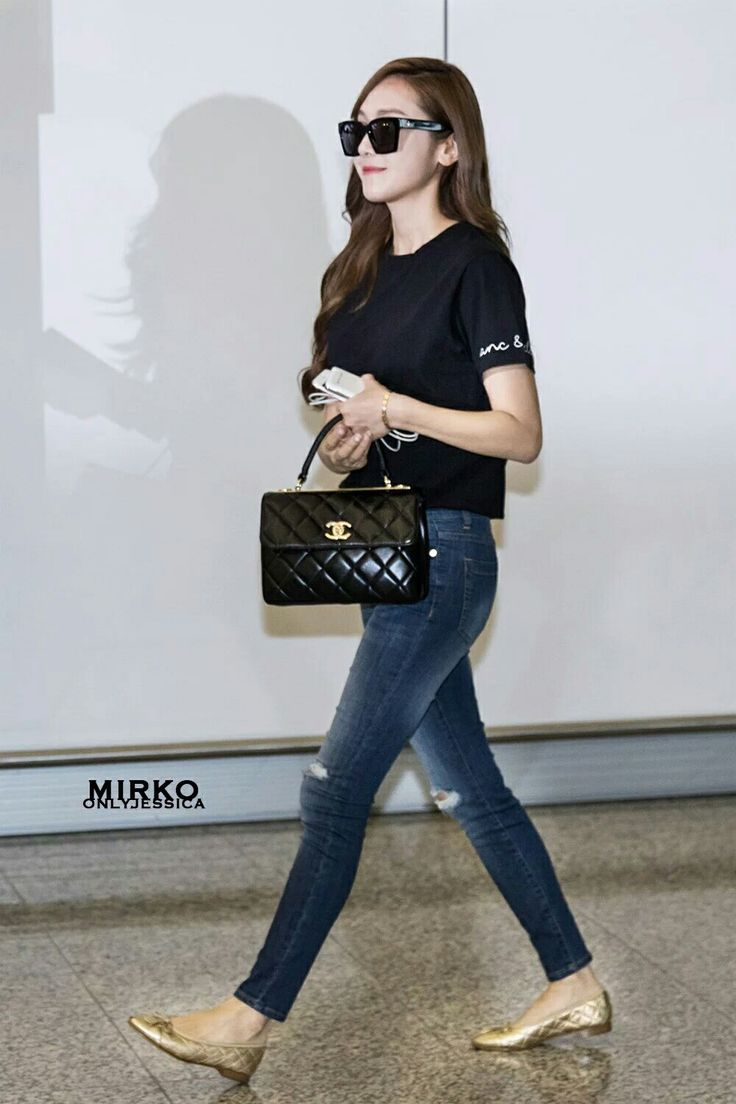 Jessica Jung at HongKong Airport.