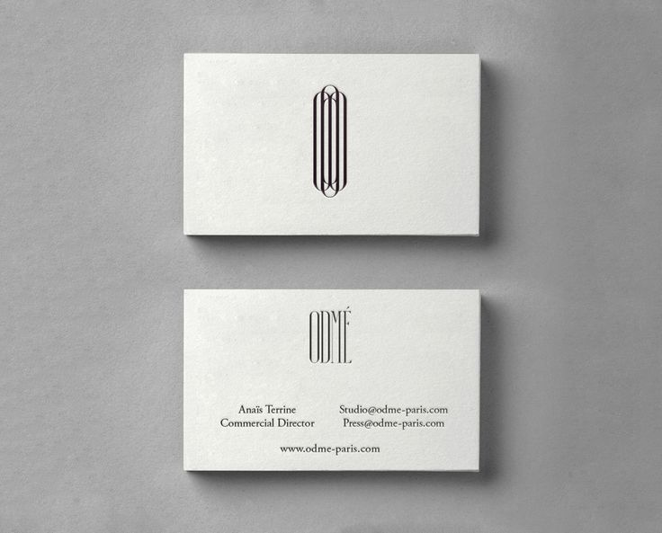 30 best letterpress images on pinterest embossed business cards logo and letterpress business card designed by two times elliott for paris accessory brand odm colourmoves Gallery