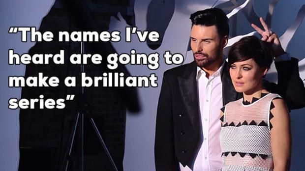 Celebrity Big Brother 2015 Emma Willis on the photoshoot ready for the Launch on January the...