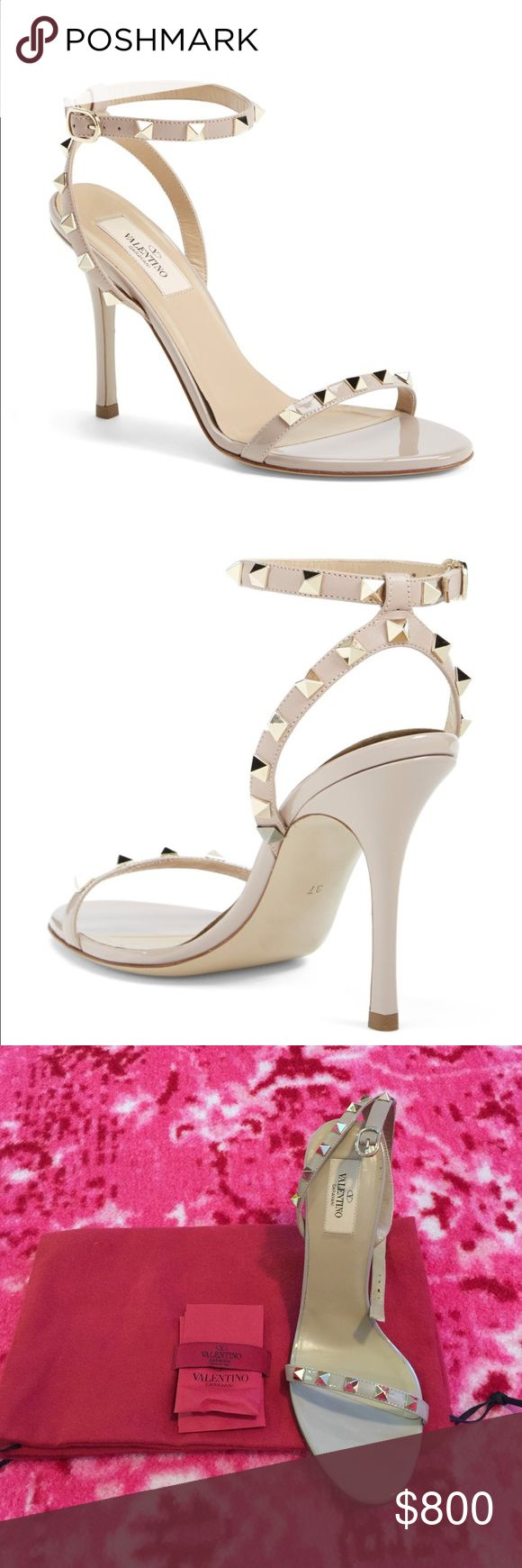 Valentino rockstud sandals Brand new. Size 39. Valentino Shoes Heels