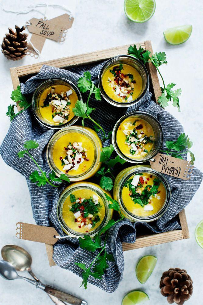 thai pumpkin soup on domino.com