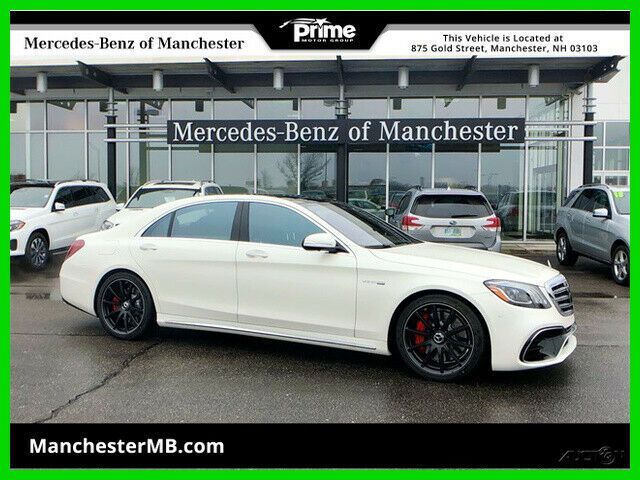 Ebay Advertisement 2019 Mercedes Benz S Class Amg S 63 4matic