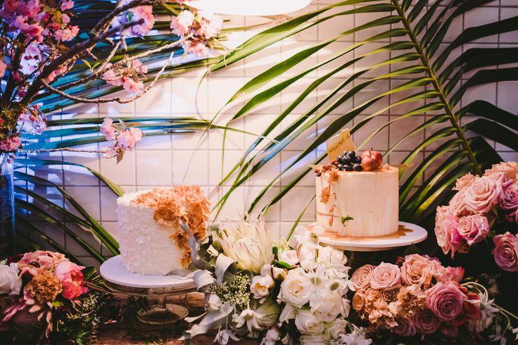 Madi & Rob - Cake Table