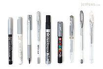 JetPens Silver Pen Sampler - JETPENS JETPACK-052