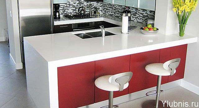 Какие должны быть барные стойки для малогабаритных кухонь?