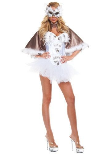 how to make an owl costume for adults