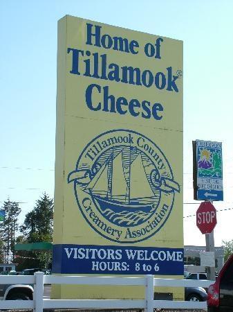 Tillamook Cheese Factory, Tillamook OR. Tasty!