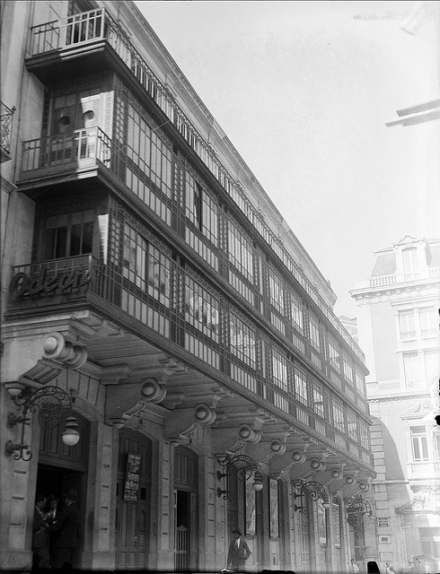 Cinema Odeon, Lisboa, Portugal Fotógrafo: Estúdio Horácio Novais. Fotografia sem data. Produzida durante a actividade do Estúdio Horácio Novais, 1930-1980.