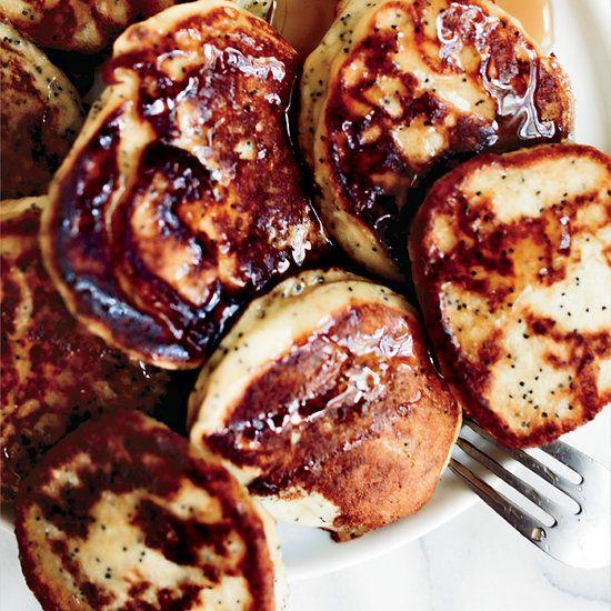 Lemon-Poppy Seed Buttermilk Pancakes | Food & Wine