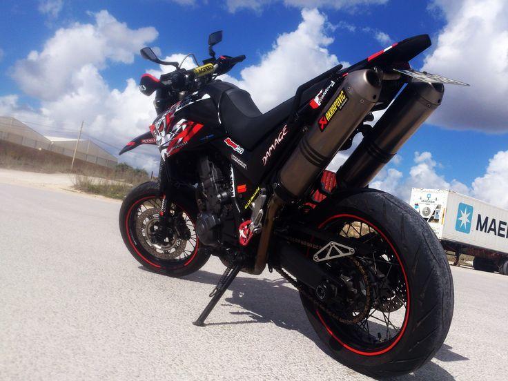 My Customized Yamaha Xt660x   Bike photo, Supermoto, Custom harleys