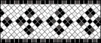 Mosaic border