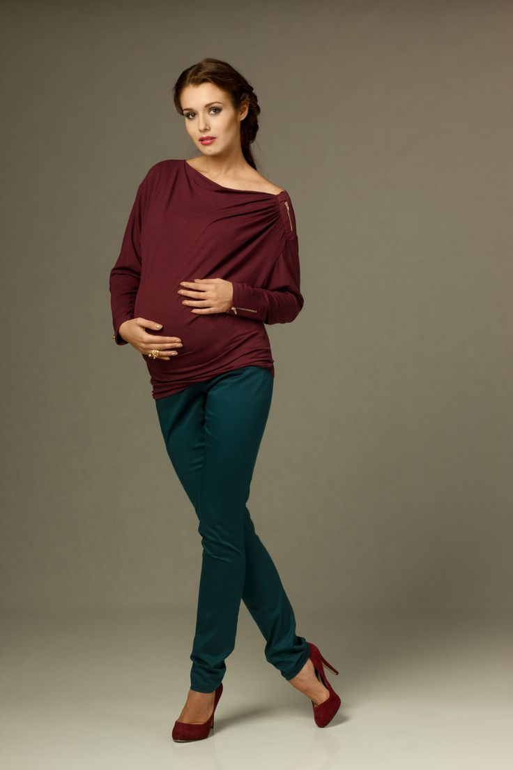 Conni blouse and Lael trousers teal