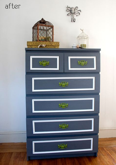 Before And After Mal Dresser From Ikea