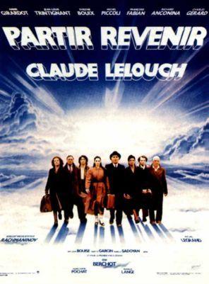 Partir, revenir est un film français réalisé par Claude Lelouch sorti en 1985. 1985. Salomé Lerner vient d'écrire un livre sur sa vie. Elle passe à la télévision dans l'émission Apostrophes de Bernard Pivot, et celui-ci imagine aussitôt le film qu'on pourrait en faire. Un film tout en musique. Car, dans le jeune pianiste Erik Berchot, Salomé croit revoir son frère, pianiste lui aussi, disparu en 1943 dans un camp de concentration avec son père et sa mère...
