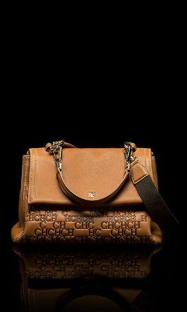 #HerreraHolidays: CH Carolina Herrera embossed bag