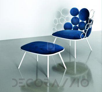 #pouffe #furniture #design #interior пуф Saba Italia Grace, SGG3B