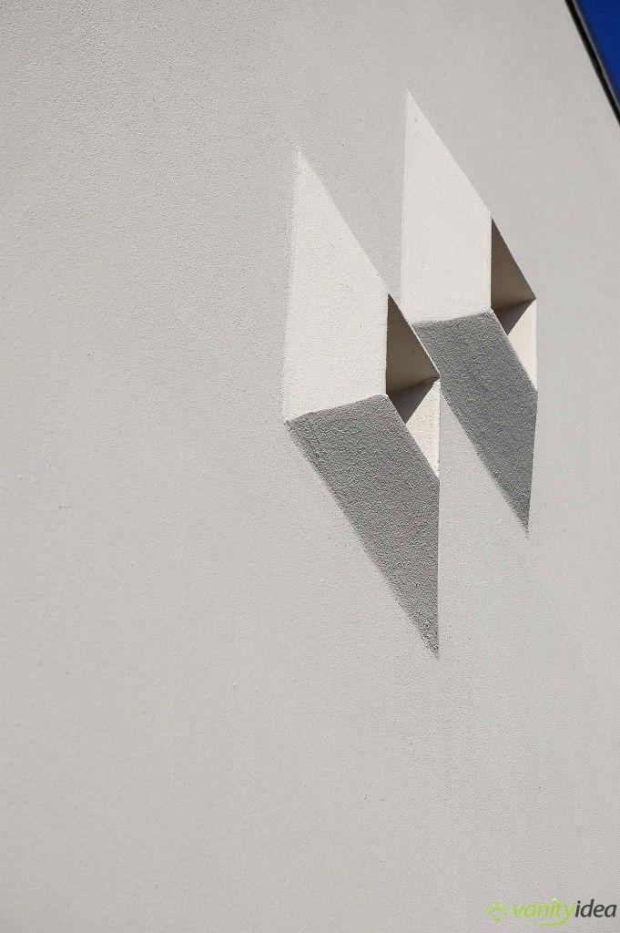 cubic-shaped windows