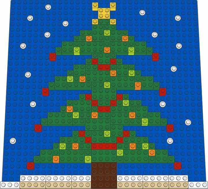 7 Best Lego Holiday Images On Pinterest Creative Lego Christmas
