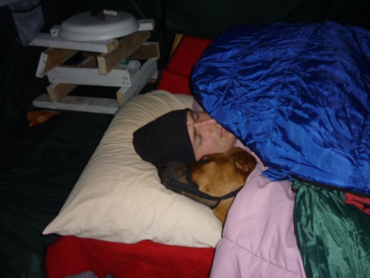 sleeping with my baby girl.
