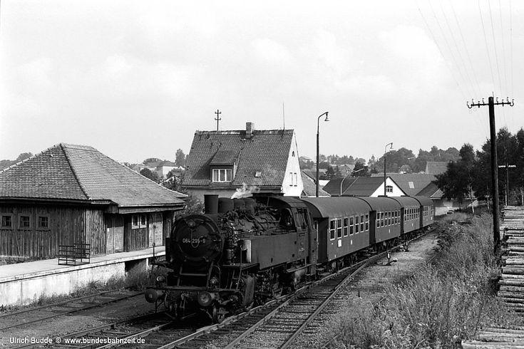 Die Bundesbahnzeit - Weiden - Eslarn u.z. – Lokalbahndampf in der Oberpfalz – Forts.