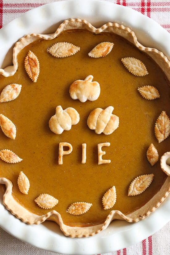 Skinny Pumpkin Pie – easy to make, perfect for the novice baker!