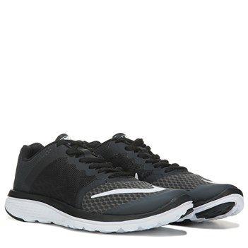 Nike FS Lite Run 3 Running Shoe Black White