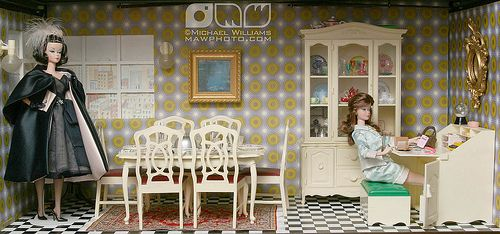 Cindy Whiteside Barbie Dioramas by MyLifeInPlastic.com, via Flickr