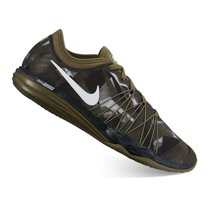 Nike Dual Fusion HIT Print Women's Cross Training Shoes, Size: 10.5, Brown