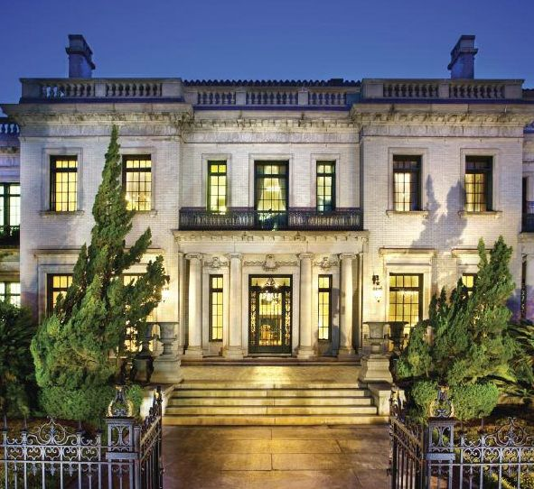 The Armstrong House in Savannah, Georgia, home to Bouhan, Williams & Levy, LLP. (source: South Magazine)