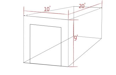how to pack a 10x20 storage unit