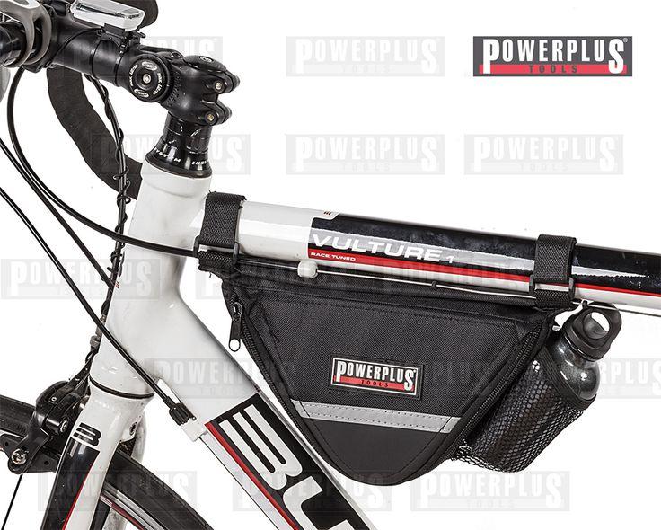 Werkzeug Rahmentasche Die praktische Werkzeug Rahmentasche ist ideal für jede Fahrrad-Tour. Verschlussystem: Reißverschluss Inkl. Fahrradpumpe, Trinkflasche und Werkzeug-Set Mit dem verstellbaren Klettverschluss können Sie die Rahmentasche an einen Rahmen bis zu einem Durchmesser von 40 mm anbringen, Preis: € 14,95 zzgl.Versand, https://www.powerplustools.de/fahrradtaschen/rahmentasche-mit-minitool-multitool-rahmentasche-fur-fahrrad-inkl-pumpe-trinkflasche-und-flickzeug.html