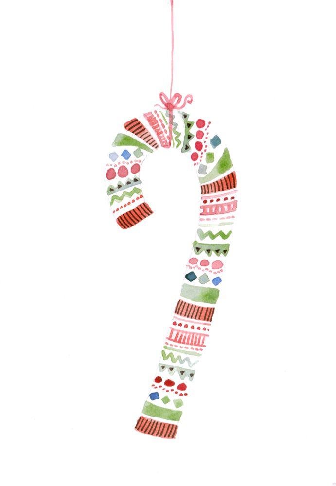 Candy Cane christmas card                                                                                                                                                                                 More