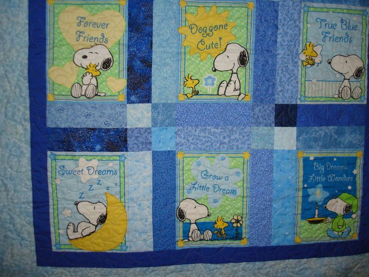 10 Best Images About Snoopy Quilt On Pinterest