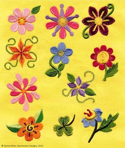 Britt Designs Machine Embroidery