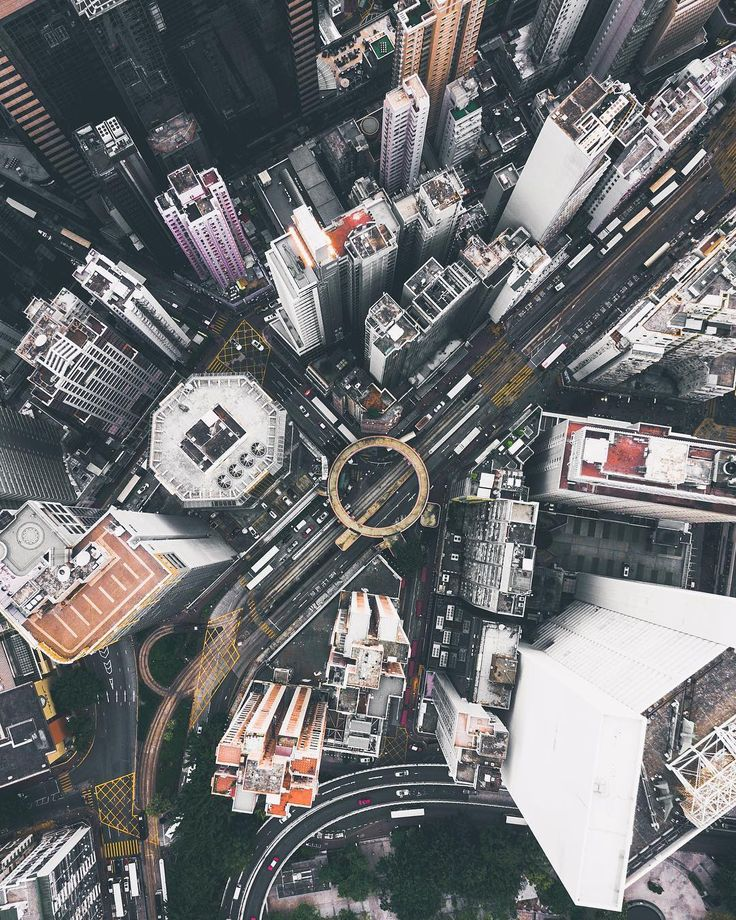 Hong Kong From Above: Drone Photography by Timothy Ma #art #photography #Drone P...