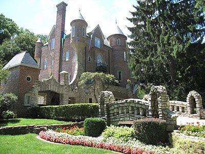 "The ""Castle"" on Grandview Drive, Peoria, Illinois"